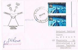 26564. Carta THARWA (Australian Antartic Territory) 1972. Signe Station Director - Territorio Antártico Australiano (AAT)
