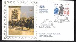 France:Armistice 1914/1918 (Thème Casque Guerre De 14) - 2000-2009