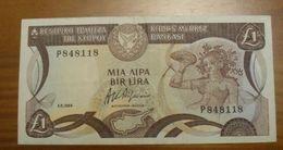 1984 - Chypre - Cyprus - 1 POUND - 1.3.1984 - P848118 - Cipro