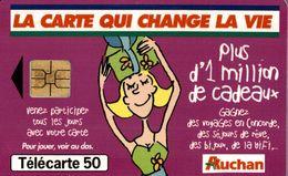 LA CARTE QUI CHANGE LA VIE AUCHAN - France