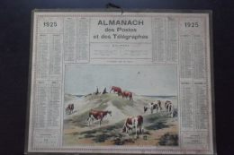 Almanach Postes Et Telegraphes 1925 - Formato Grande : 1921-40