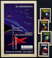 D0152 ANGOLA 1998, 20th Anniv ENSA (National Insurance Company)  MNH - Angola