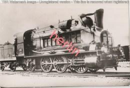 CV - TRAINS France - PLM - Locomotive 3049 - Photogr. - Eisenbahnen