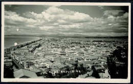 RB 1181 - New Zealand Real Photo Plain Back Card - Aerial View Over Town Of Napier - New Zealand