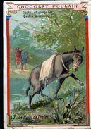 Chocolat Poulain, Legende Sur Les Animaux 2 ème Série, N°17, Le Mulet De Thales - Poulain