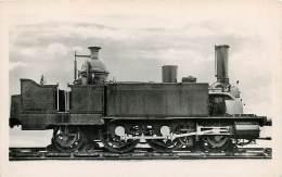 Train Zug Railway Locomotive N°8 De La Cie D'Orléans Ligne De Sceaux  Train Zug Railway Gare (scan Recto-verso) FRCR0004 - Treinen