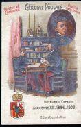Chocolat Poulain, Souverains Et Chefs D'etat Du Monde, Alphonse XIII, Royaume D'Espagne - Poulain