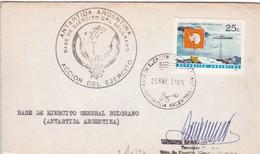 BASE GENERAL BELGRANO EJERCITO SIGNEE ANTARTIDA ANTARCTICA L'ARGENTINE CIRCA1970s EX COLECCION VOZNESENSKI TBE- BLEUP - Bases Antarctiques