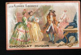 Chocolat Hugon, Moliere, Les Femmes Savantes - Chocolate
