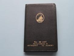 1960 - SECURITAS Antverpia / Flor DE LAET Markgravestraat ANTWERPEN ( Niet Gebruikt ) Agenda 7 X 11 Cm./ Zie Foto's ) ! - Banque & Assurance