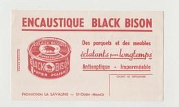 BUVARD ENCAUSTIQUE BLACK BISON - Limpieza