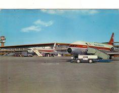 AEROPORTO-AEROPORT-AIRPORT-FLUGHAFEN-AERODROM-FIUMICINO-ROMA-CARTOLINA VERA FOTOGRAFIA-VIAGG.IL 17-12-1965 - Aerodrome