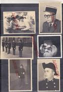 Au Plus Rapide Médecine Médecin Archive Membre école De Santé Militaire De Lyon 1950 Bel Ensemble - Guerre, Militaire
