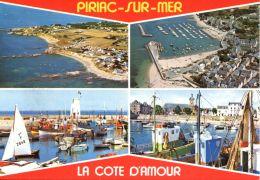 N°60132 -cpsm  Piriac Sur Mer -multivues- - Piriac Sur Mer