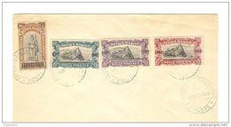 SAN MARINO - 1924 Pro Combattenti Sovrastampata - Serie Compl. Su Lettera NO FDC - 3840 - Brieven En Documenten
