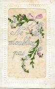 WW1 - 1914 -1918 - CARTE BRODEE NE M'OUBLIEZ PAS - Weltkrieg 1914-18