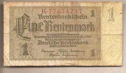 Germania - Banconota Circolata Da 1 Rentenmark P-173b.1 - 1937 - Other