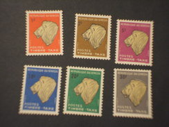SENEGAL - TASSE 1966 LEONE 6 VALORI - NUOVO(++) - Senegal (1960-...)