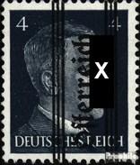 Österreich 676 Geprüft Postfrisch 1945 Gitter-Aufdruck - Ungebraucht