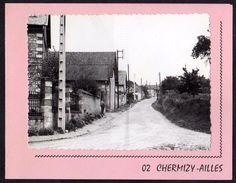 CPSM - 02 - CHERMIZY-AILLES - Véritable Photo Collée Sur Carton Double - Photo M.GUILBAUT Série N°10746 - - France