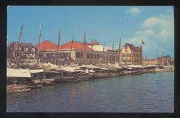 Curazao. Willemstad. *Floating Market* Edt. L. Penha & Sons Nº P-41. Nueva. - Curaçao