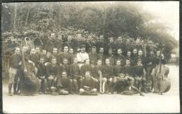 Militaria Carte-Photo  Musique Du 9ème Régiment De Zouaves  Alger - Regiments