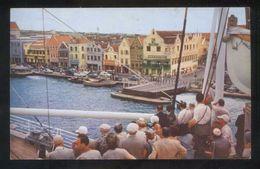 Curazao. Willemstad. Edt. Color Card Nº C-6525. Circulada 1956. - Curaçao