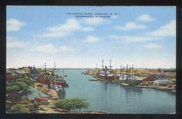 Curazao. Willemstad. *Unloading Ships* Edt. A. Bethencourt Nº 32923N. Escrita. - Curaçao