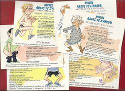 HUMOUR  GRIVOIS - ILLUSTRATEUR: ALEXANDRE - LOT DE 6 CARTES DIFFERENTES - NOUVEL ARGUS DE L'AMOUR - Alexandre
