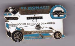 Pin 's GRAND PRIX DE MONACO 92 Signe Formule RENAULT N° 801 - F1