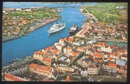 Curazao. Willemstad. *View Of The M/S Southward In Harbor...*  Escrita. - Curaçao