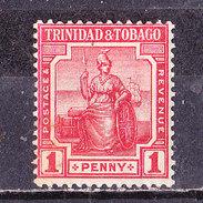 Trinidad E Tobago  1913-1 P. Rouge- Nuovo MLLH - Trinité & Tobago (...-1961)