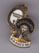 Pin's PIN UP BROCANTE DE NANTES OCTOBRE 92 - Pin-ups