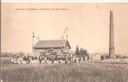 Cpa 54 Stand De La Madeleine Et Cheminée De Saint-gobain Rarissime - Other Municipalities