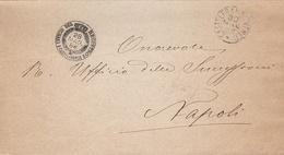 Castelfranco Veneto. 1886. Annullo Grande Cerchio  CASTELFRANCO VENETO + UFFICIO REGISTRO + Testo,  Su Franghigia. - 1878-00 Umberto I