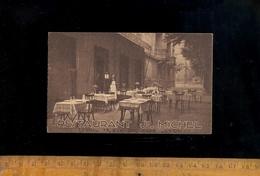 Carte De Visite Restaurant Joseph MICHEL 75 Rue Duquesne à LYON Vers 1930 (presque Angle Garibaldi) - Visiting Cards
