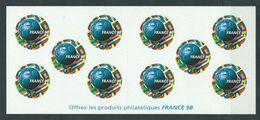 Año 1998 Nº 3140 Copa Del Mundo France98 - Libretas