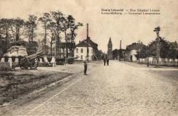 BELGIQUE - LIMBOURG - BOURG-LEOPOLD - LEOPOLDSBOURG - Rue Général Leman - Generaal Lemanstraat. - Leopoldsburg