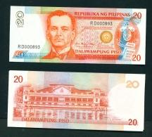 PHILIPPINES  -  2004  20 Pesos  UNC - Philippines
