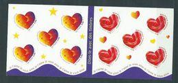 Año 1999 Nº 3220/1 Corazon De San Valentin - Libretas