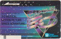 JAPAN - FREECARDS - 110-20856 - FRONTBAR - BARCODE - TOKYO DISNEYLAND - Japon