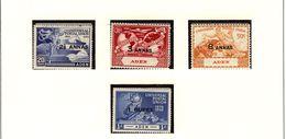 ADEN 1949 UPU #32 - 35 MNH - Aden (1854-1963)