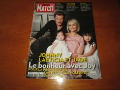 JOHNNY HALLIDAY ** PARIS MATCH Magazine ** Vintage MARCH 2009 - People