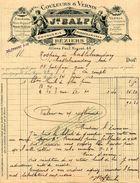 Droguerie, Couleurs Et Vernis, Maison Joseph BALP, Allée Paul Riquet, Béziers, 1912 - Droguerie & Parfumerie