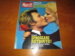 JOHNNY HALLIDAY ** PARIS MATCH Magazine ** Vintage APRIL 1978 - People