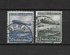 LOTE 1480    ///    ALEMANIA IMPERIO CORREO AEREO    YVERT Nº: 55/56 - Airmail
