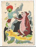 Humour Card * Illustrator '' Bernard Aldebert'' * Nº155 - Künstlerkarten