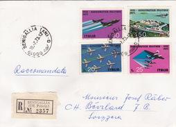 Brief Von Senigallia In Die Schweiz (br1865) - 6. 1946-.. Republic
