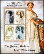 PENRHYN 2000 - 100e Ann De La Reine Mere - Feuillet Neufs // Mnh // CV 20.00 - Penrhyn