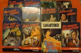 12 Livres - Editions Fleuve Noir - San Antonio N°38, 48, 63, 71, 76, 188, 194, 201, 265, 443, 589, 893 - Fleuve Noir